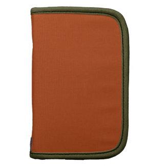 Rust Moss High Quality Monochromatic Folio Planners