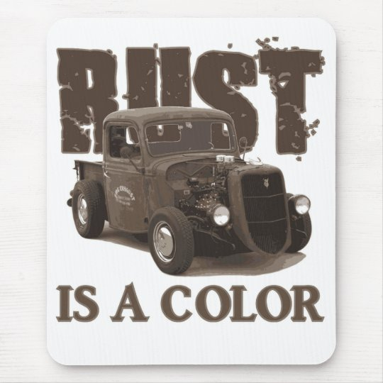 Rust Mouse Pad