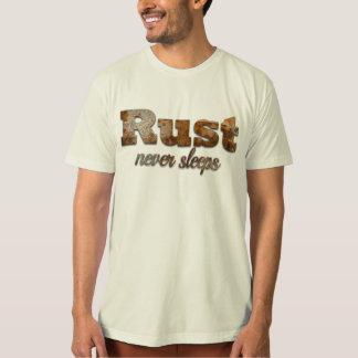Rust never sleeps saying T-Shirt