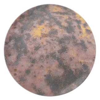 Rust of Ages decorative plate