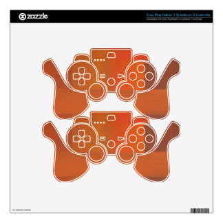 Rust plates PS3 controller skin