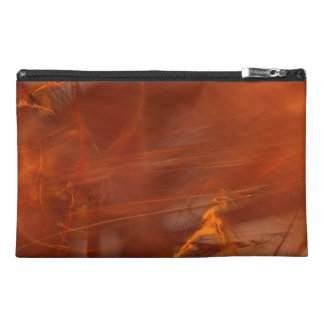 Rust Realm Fractal Travel Accessories Bag