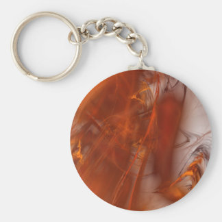 Rust Realm Fractal Keychain