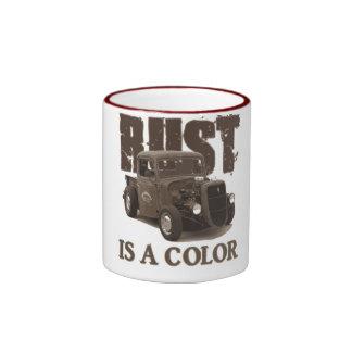Rust Ringer Coffee Mug
