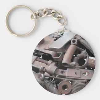Rust Rocks Key Chain