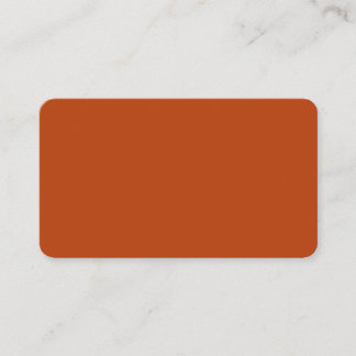 Rust Rounded Business Card