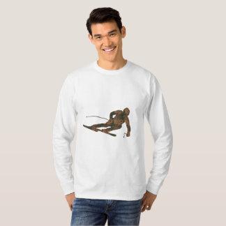 Rust Ski Long Sleeve T-Shirt
