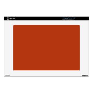 "RUST (solid reddish brownish color) ~ 15"" Laptop Skins"