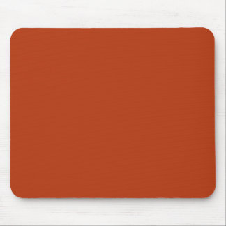 RUST (solid reddish brownish color) ~ Mouse Pad