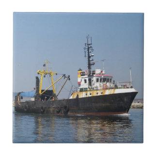Rust Streaked Fishing Boat Tiles