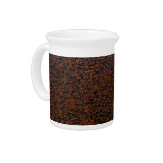 Rust Texture Base Layer Customizable Drink Pitchers