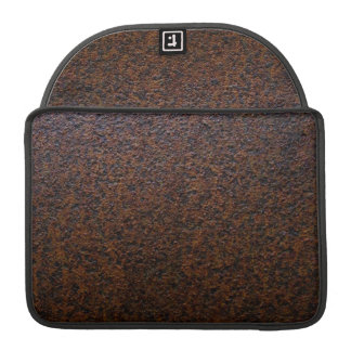 Rust Texture Base Layer Customizable Sleeve For MacBook Pro