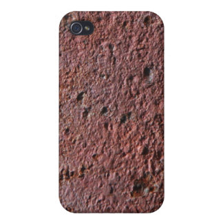 Rust texture (brown flaky rusted iron) even pitted iPhone 4 covers