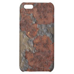 Rust texture (brown flaky rusted iron) even pitted iPhone 5C cover