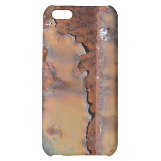 Rust texture (brown flaky rusted iron) even pitted iPhone 5C cases