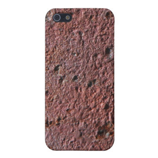Rust texture (brown flaky rusted iron) even pitted covers for iPhone 5