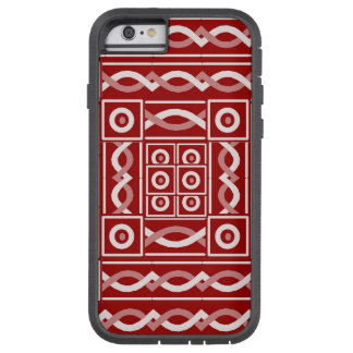 Rust Tribal Scribe Tough Xtreme iPhone 6 Case