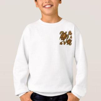 Rust Turtles 2-Sided Kids' Sweatshirts