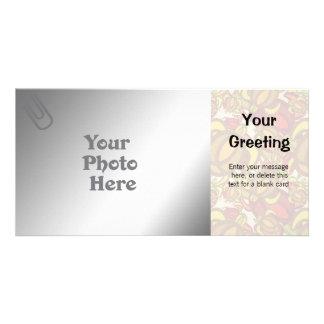 Rust Turtles PhotoCard Template Customized Photo Card