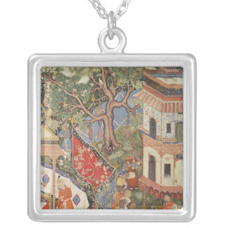 Rustam discovers the girl who betrayed his square pendant necklace