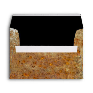 Rusted Art Envelopes