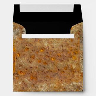 Rusted Art Envelope