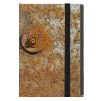 Rusted Art Case For iPad Mini