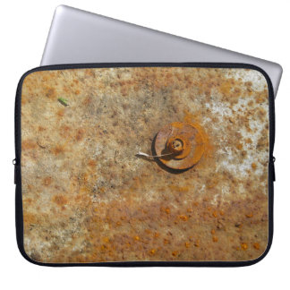 Rusted Art Laptop Computer Sleeve