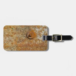 Rusted Art Travel Bag Tag