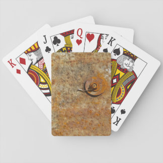 Rusted Art Poker Cards