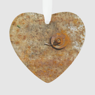 Rusted Art Ornament
