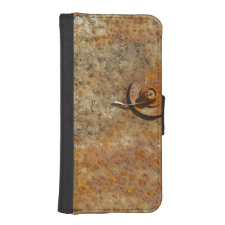Rusted Art Phone Wallet