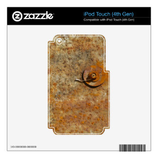 Rusted Art iPod Touch 4G Decals