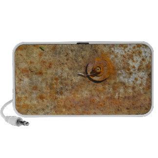 Rusted Art iPod Speakers