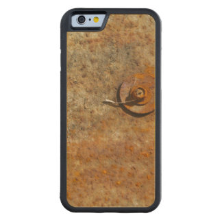 Rusted Art Carved® Maple iPhone 6 Bumper Case