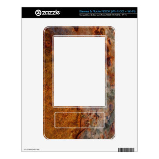 Rusted Barnes & Noble NOOK skin