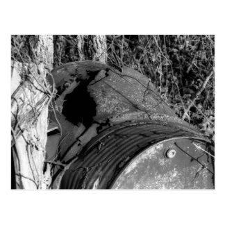 Rusted Barrel Postcard