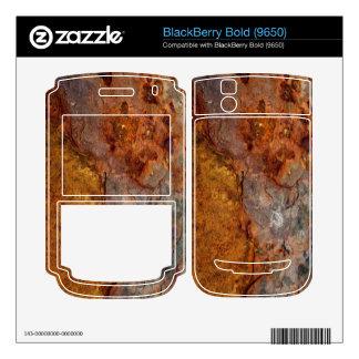 Rusted BlackBerry Bold (9650) skin Skin For BlackBerry Bold