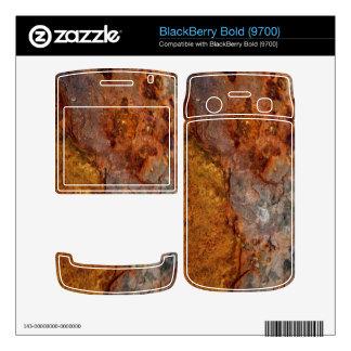 Rusted BlackBerry Bold skin