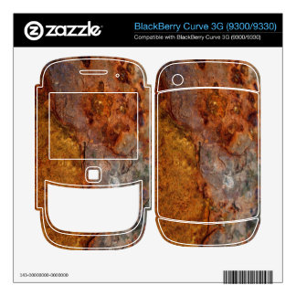 Rusted BlackBerry Curve 3G skin