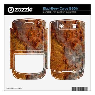 Rusted BlackBerry Curve (8900) skin BlackBerry Skin