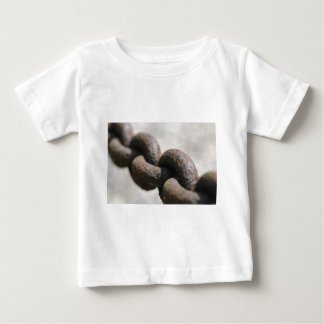 Rusted chain with big links baby T-Shirt