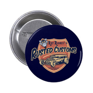 Rusted Customs II 2 Inch Round Button