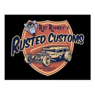 Rusted Customs II Postcard