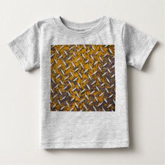 Rusted Diamond Plate Metal Baby T-Shirt