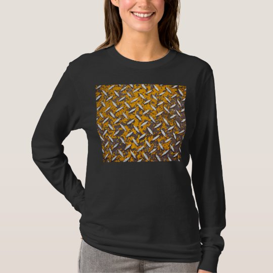 Rusted Diamond Plate Metal T-Shirt