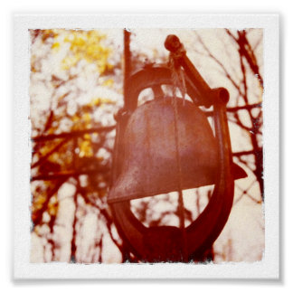Rusted Dinner Bell Print