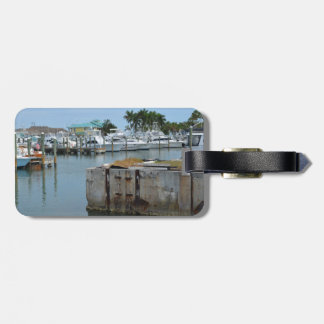 rusted dock ft pierce florida marina bag tag