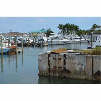 rusted dock ft pierce florida marina cutout