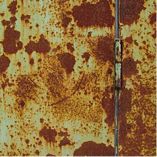 Rusted Door Hinge Statuette